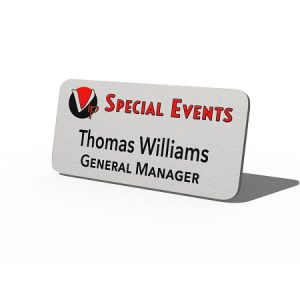 Plastic Badge created for VIP Special Events