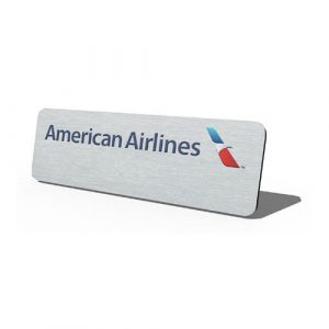 Metal-Only-Badge-American-Airlines