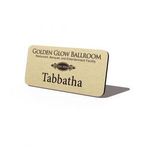 Metal-With-Name-And-Logo-Golden-Glow-Ballroom