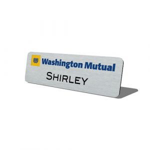 Metal-With-Name-And-Logo-Washington-Mutual