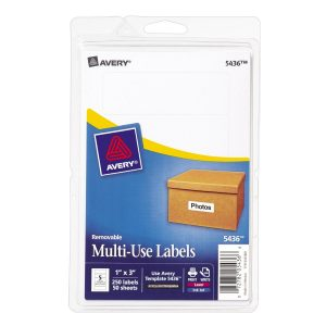 Avery Multi-use Labels 5436