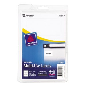 Avery Multi-use Labels 5440