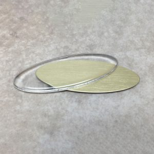 Oval Dome 1 x 2 3/4 inches
