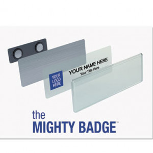1x3 inch Mighty Badge Kit