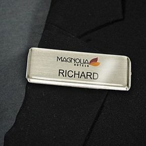 Mighty Badge 1x3 Name Badge - Do-It-Yourself