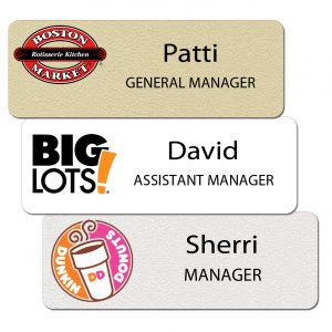 Name Tags and Badges