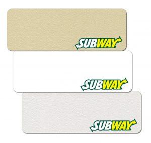 Subway Name Badges