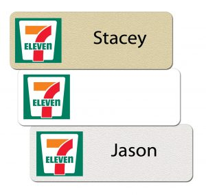 7-Eleven Name Badges