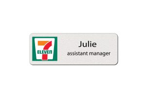 7-Eleven Employee Name Tags