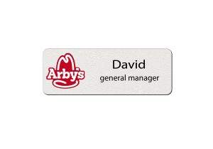 Arbys Employee Name Tags