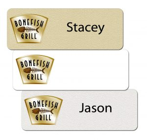 Bonefish Grill Name Badges
