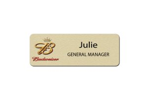 Budwewiser Manager Name Badges