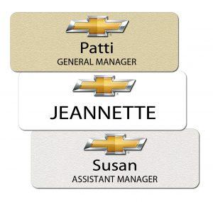 Chevrolet Name Badges