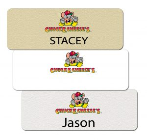 Chuck E Cheese Name Badges