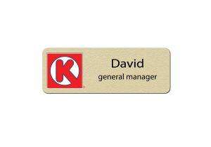 Circle K Manager Name Tags