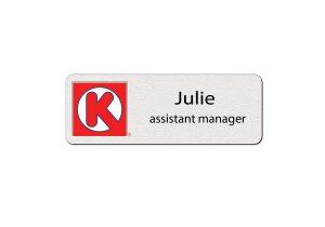 Circle K Employee Name Tags