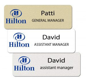 Hilton Name Badges