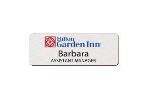 Hilton Garden Inn Employee Name Tags