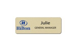Hilton Manager Name Tags