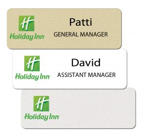 Holiday Inn Name Badges