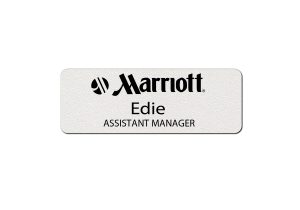 Marriott Employee Name Tags