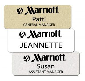 Marriott Name Badges