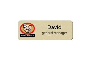 Piggly Wiggly Manager Name Tags