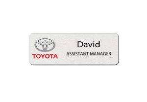 Toyota Employee Name Tags