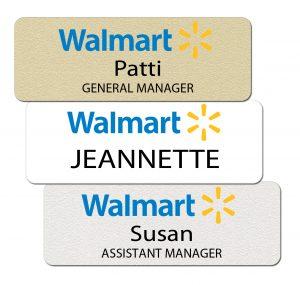 Walmart Name Tags