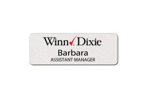 Winn Dixie Employee Name Tags