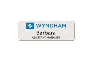 Wyndham Hotel Employee Name Tags