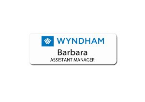 Wyndham Hotel Name Tags