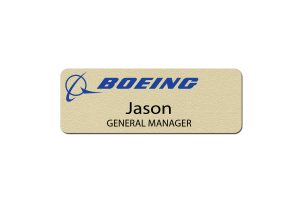 Boeing Manager Name Badges