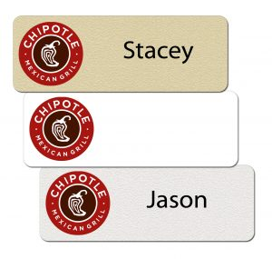 Chipotle Name Badges