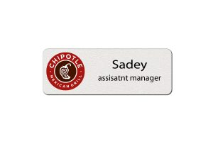 Chipotle Employee Name Tags