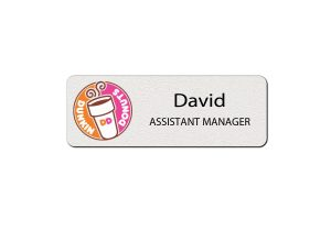 Dunkin Donuts Employee Name Tags