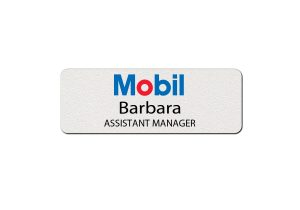 Mobil Employee Name Tags