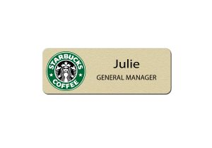 Starbucks Manager Name Tags