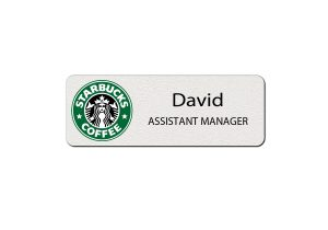 Starbuck Employee Name Tags
