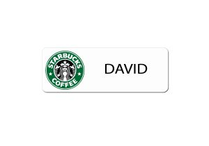 Starbucks Name Badges