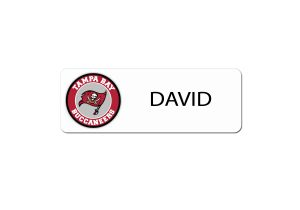Tampa Bay Bucs Name Tags