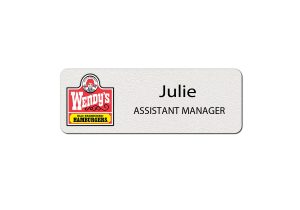 Wendys Employee Name Tags