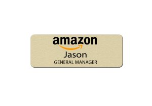 Amazon Manager Name Tags