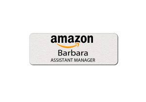 Amazon Employee Name Tags