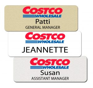 Costco Name Tags and Badges
