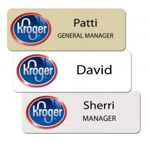 Kroger Name Tags and Badges