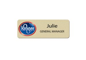Kroger Manager Name Tags