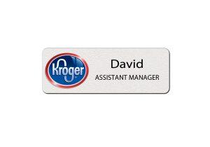 Kroger Name Badges