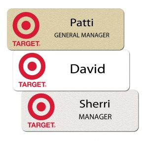 Target Name Tags and Badges