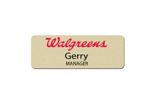 Walgreens Manager Name Badges